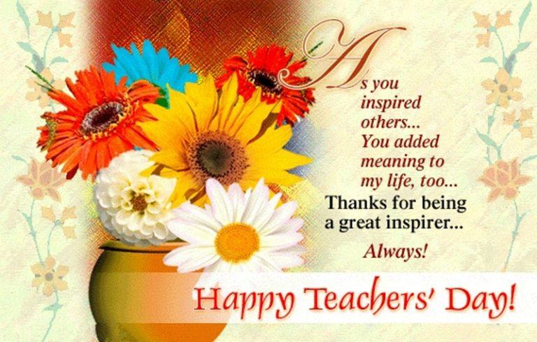 Поздравления учительнице английского языка на английском языке 479