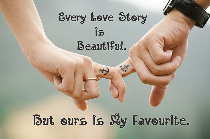 Beautiful Love Messages Couple Hands Image