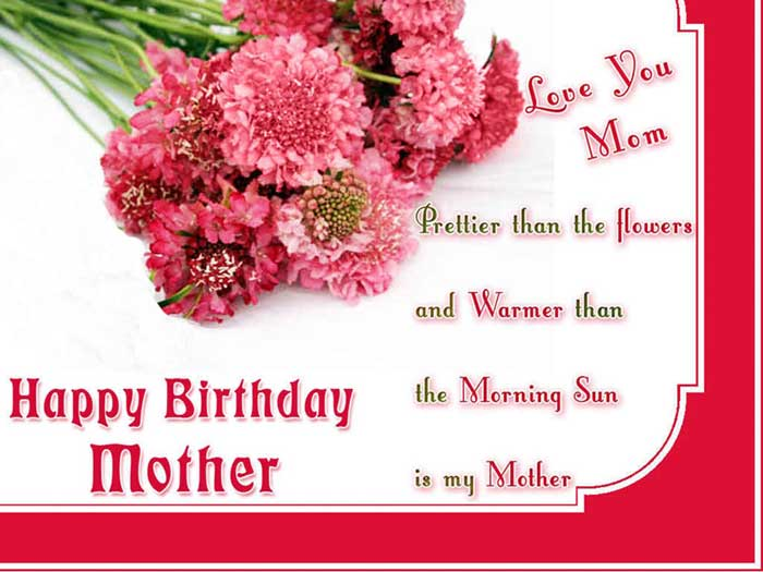 Birthday Message For Mom Wishes Mother