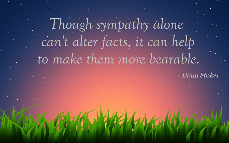 Sympathy Messages and Quotes : Fit With Any Kind Of Loss