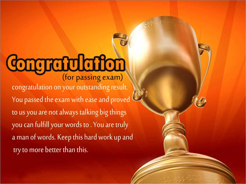 congratulations for passing exam messages and wishes wishesmsg