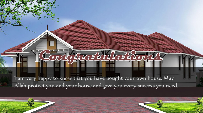 congratulations messages for new home