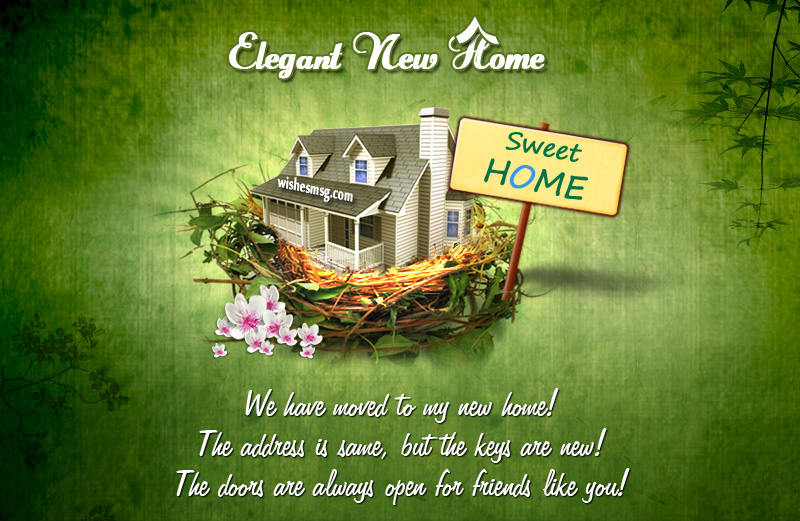 new home quotes and messages
