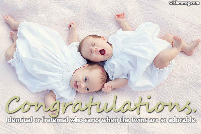 congratulations messages for twin baby width