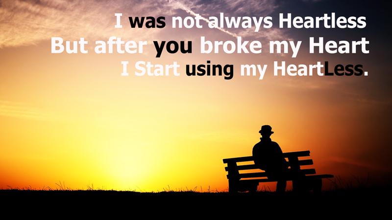 heartbroken messages for him