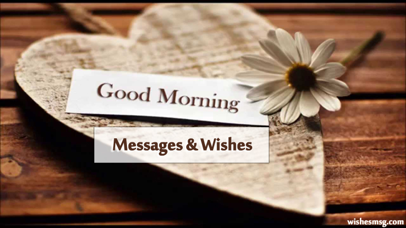 Best Good Morning Messages, Wishes and Quotes