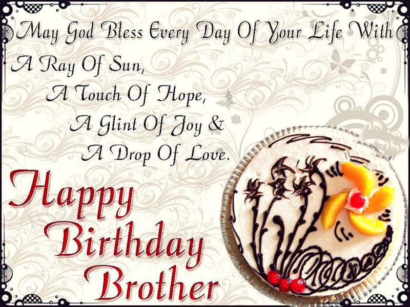 Birthday Wishes For Brother   Cute, Inspiring & Funny   WishesMsg