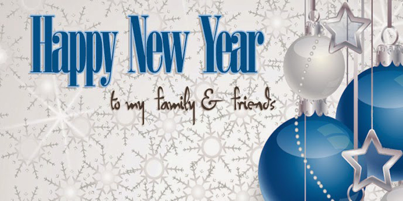 Happy New Year Messages For Friends and Family - WishesMsg