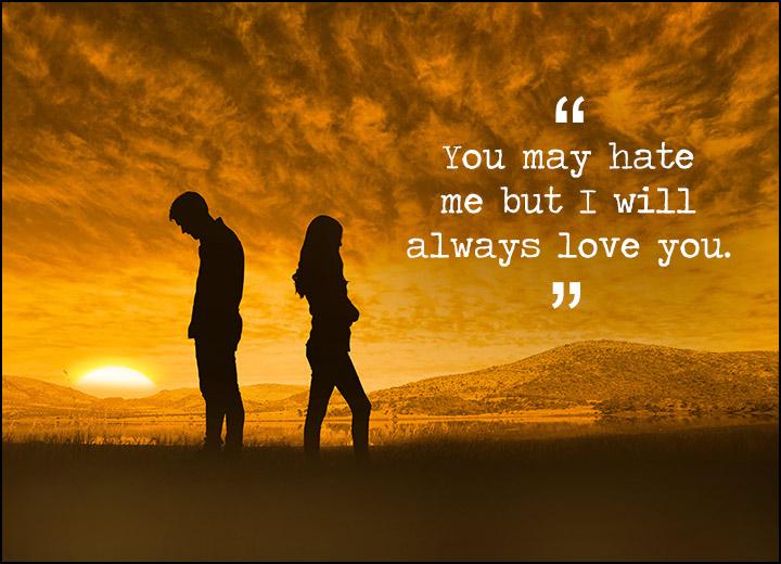 Hate You Messages For Ex-Boyfriend & Ex-Girlfriend - WishesMsg