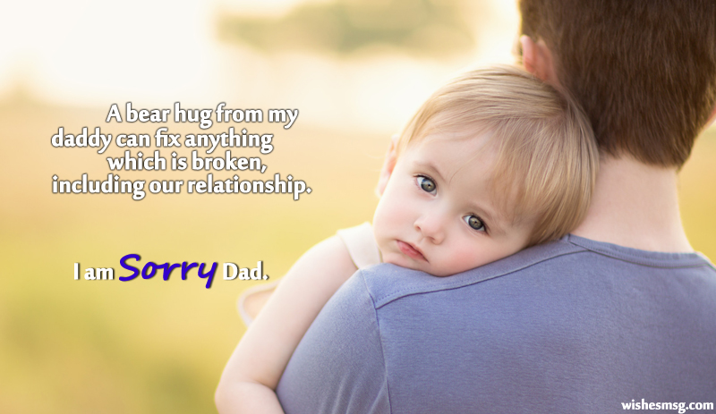 sorry quotes for father