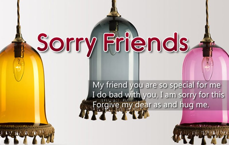 Sorry Messages for Friends – Apology Quotes