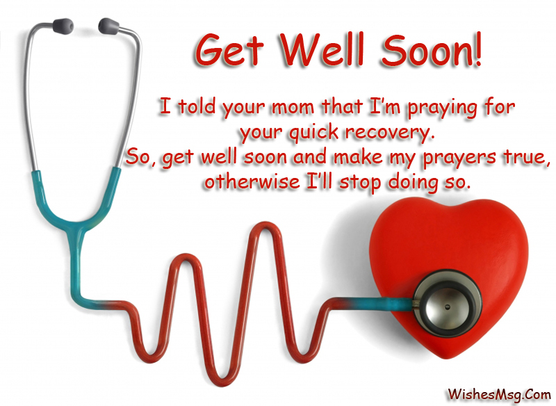 50 Funny Get Well Soon Messages Wishesmsg