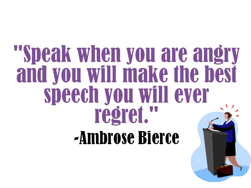 motivational messages about being angry