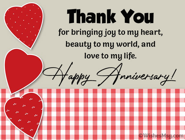 Anniversary Wishes For Girlfriend - Quotes and Messages - WishesMsg