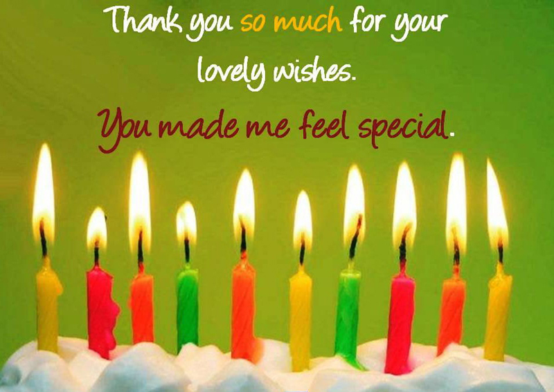 Take Ideas From This Post For Writing A Thank You Note To Everyone Who Wished On Your Birthday Or Replies Well Wishers