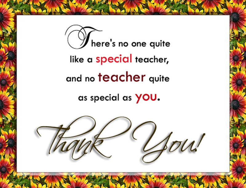 Thank You Teacher Wishes Messages From Students And Parents Classy Thank You Teacher Quotes
