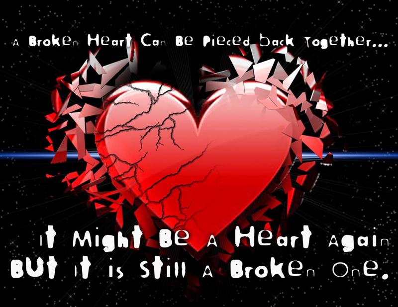 broken heart message to my husband
