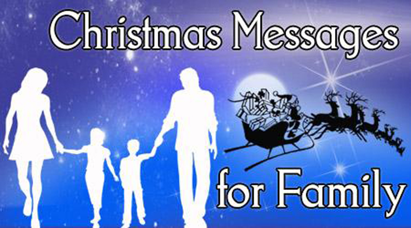 Happy Merry Christmas Wishes For Family & Family Friends
