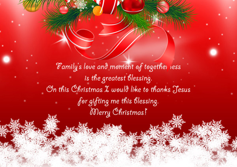Happy Christmas Wishes For Family & Family Friends - WishesMsg