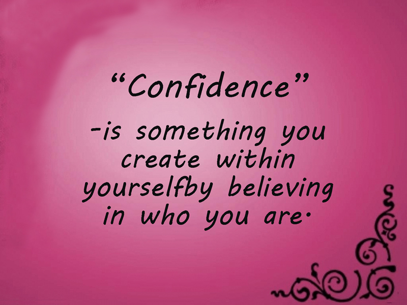 Confidence Messages Quotes To Build Self Confidence Wishesmsg