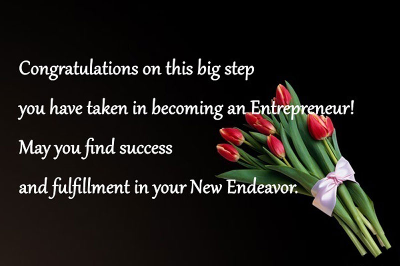 congratulations wishes for new business