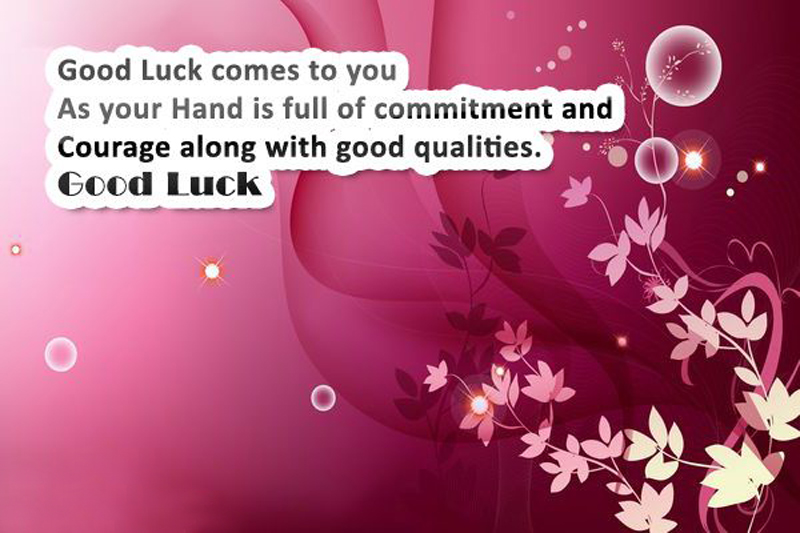 Exam Wishes and Messages - Good Luck For Exam - WishesMsg