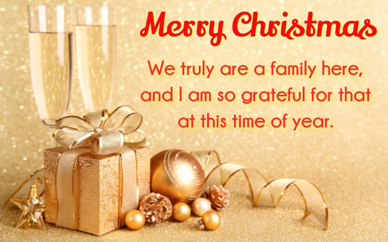 Merry Christmas Wishes For Colleagues or Coworkers - WishesMsg