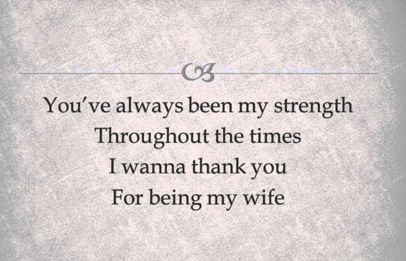 Being a wife quotes
