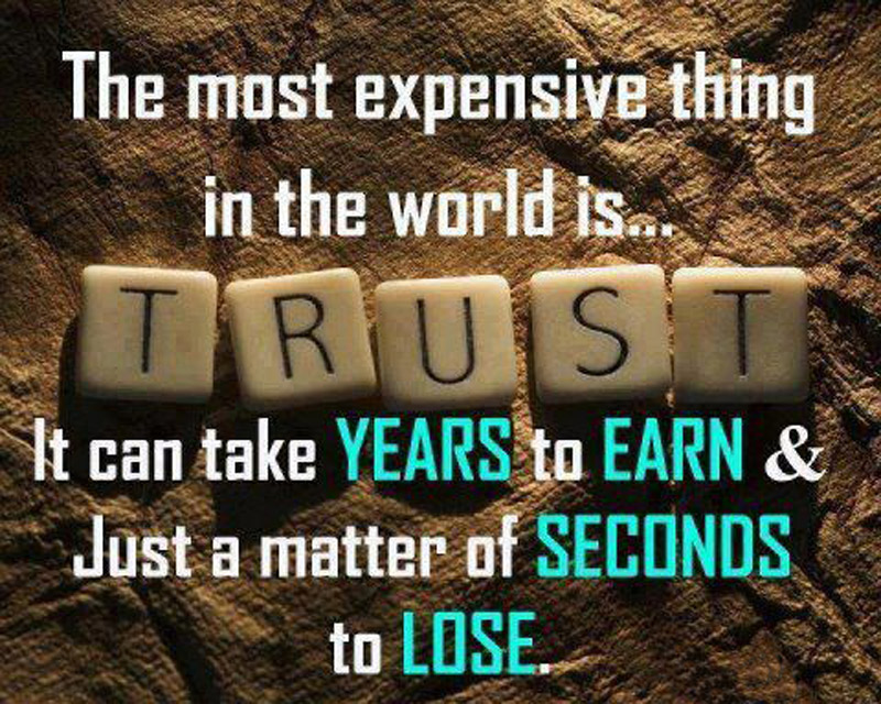 Trust Messages Quotes Inspirational Thoughts Wishesmsg