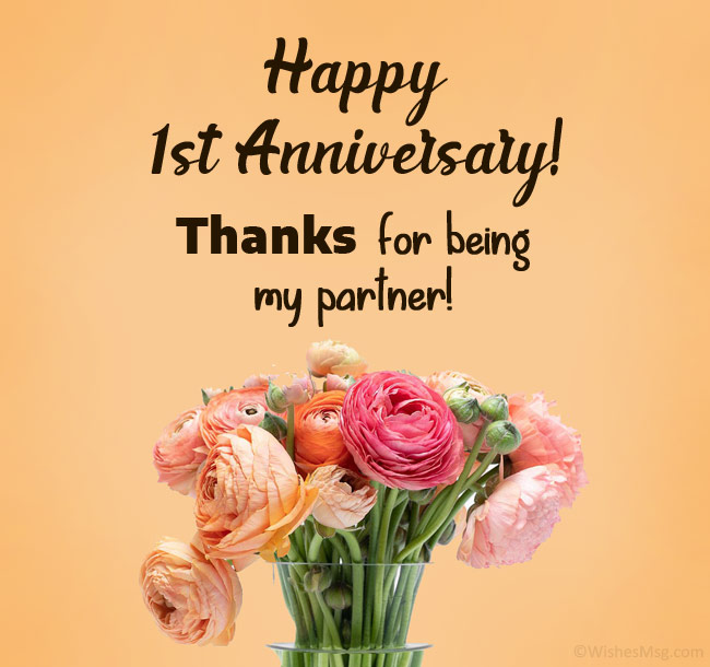 1st-anniversary-wishes-for-partner