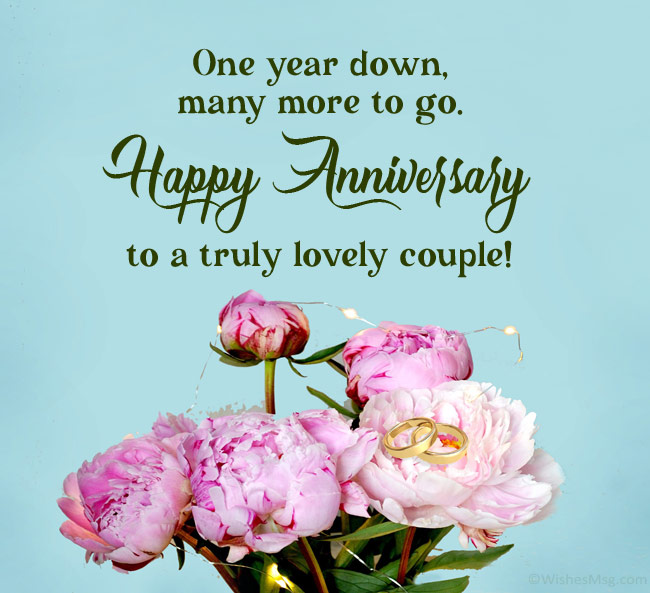 1st-anniversary--wishes-to-a-couple