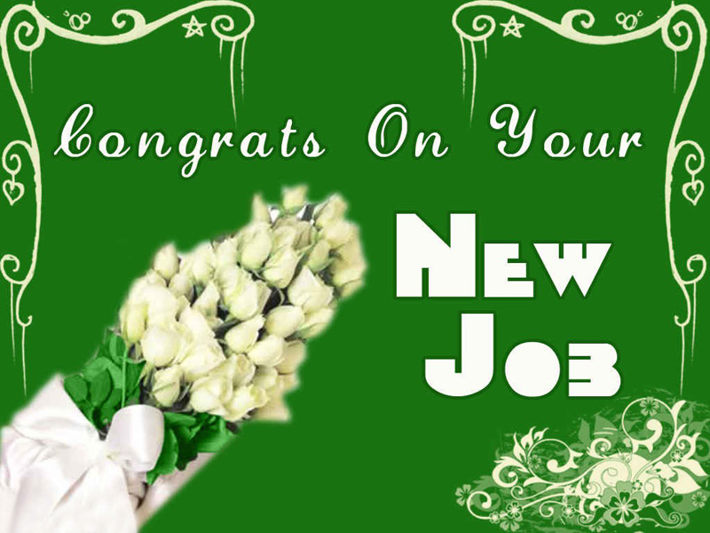 Best wishes for new job congratulations messages for new job new job messages and wishes m4hsunfo