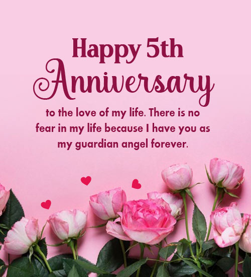 5th wedding anniversary wishes for husband