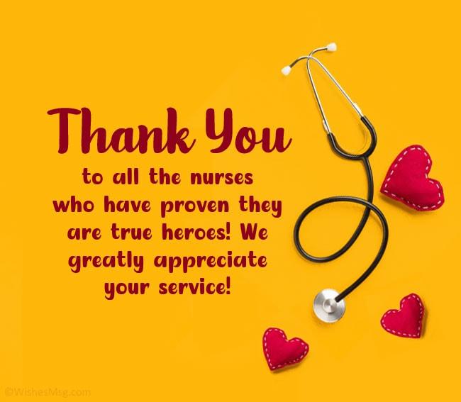 Appreciation Quotes For Nurses