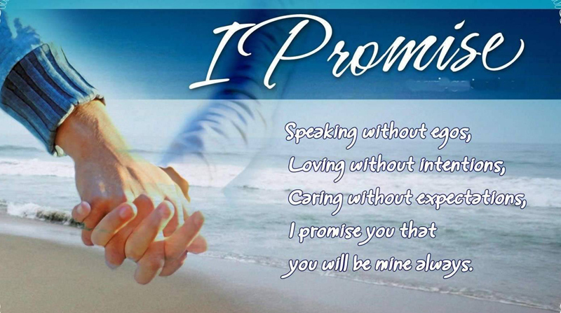 Romantic Love Promise Messages For Sweetest Commitment