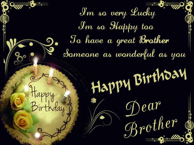 Birthday wishes for brother cute inspiring funny wishesmsg best birthday wishes for brother m4hsunfo