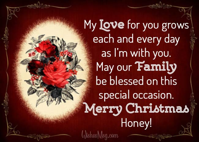 Best Christmas Messages for Husband