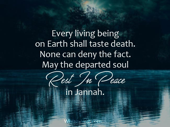25 Heartfelt Islamic Condolence Messages In English Wishesmsg