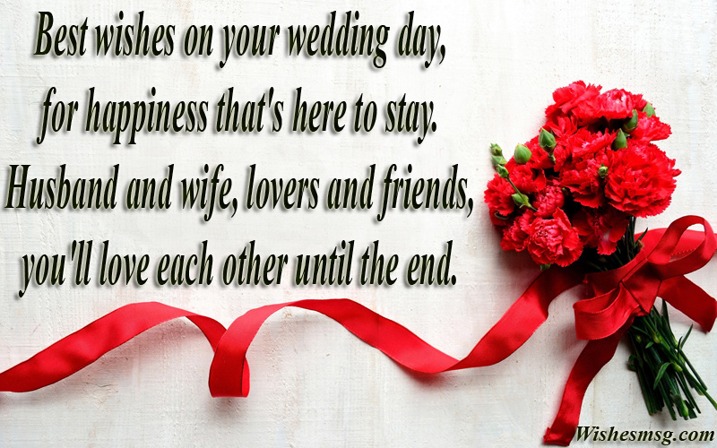 Wedding wishes messages for newlywed couple wishesmsg best wishes for wedding m4hsunfo