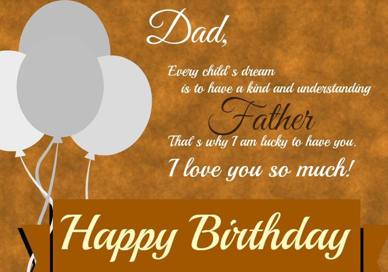 Birthday Wishes For Dad Messages Quotes Wishesmsg