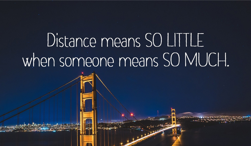 Romantic Long Distance Relationship Messages