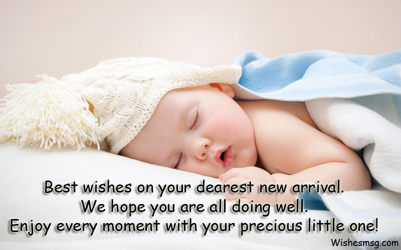 best wishes for new born baby - New Born Baby Card