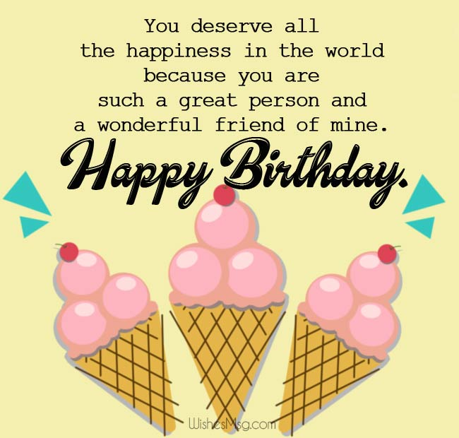 Incredible 80 Happy Birthday Wishes For Friend Wishesmsg Funny Birthday Cards Online Alyptdamsfinfo