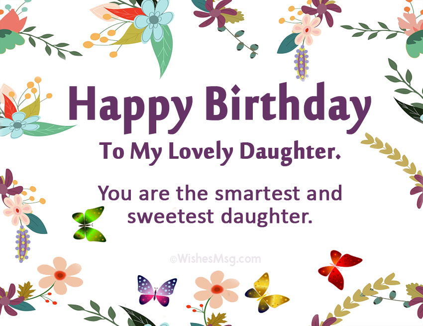 free birthday wishes for daughter