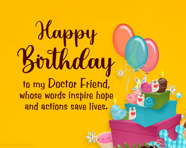 Birthday Wishes for Doctor Friend