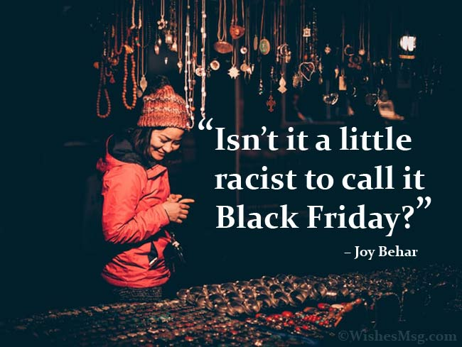Funny Quotes About Black Friday