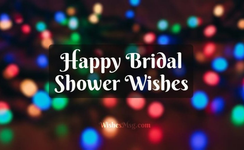 bridal shower wishes