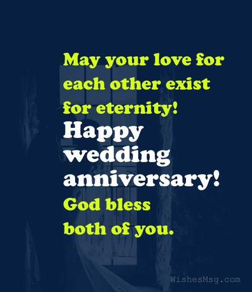 Happy Anniversary To A Beautiful Couple Quotes: Christian Wedding Anniversary Wishes