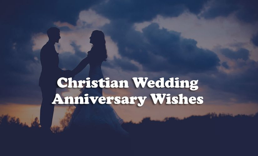 Christian Wedding Anniversary Wishes - Religious Messages