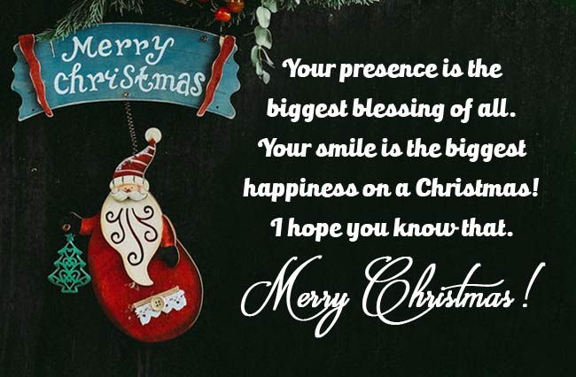 Christmas Greetings Messages for Parents